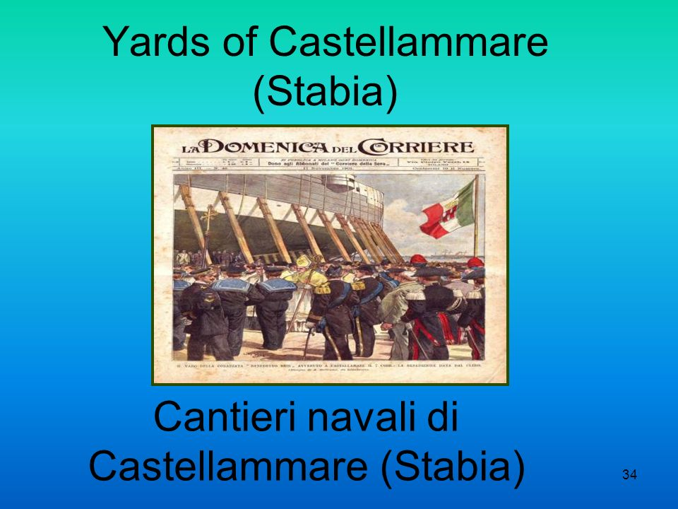 Yards of Castellammare (Stabia)