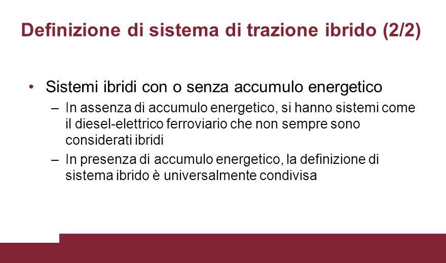 Definizione di sistema di trazione ibrido (2/2)