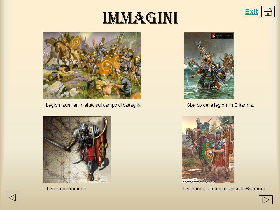 Immagini Exit Legioni ausiliari in aiuto sul campo di battaglia