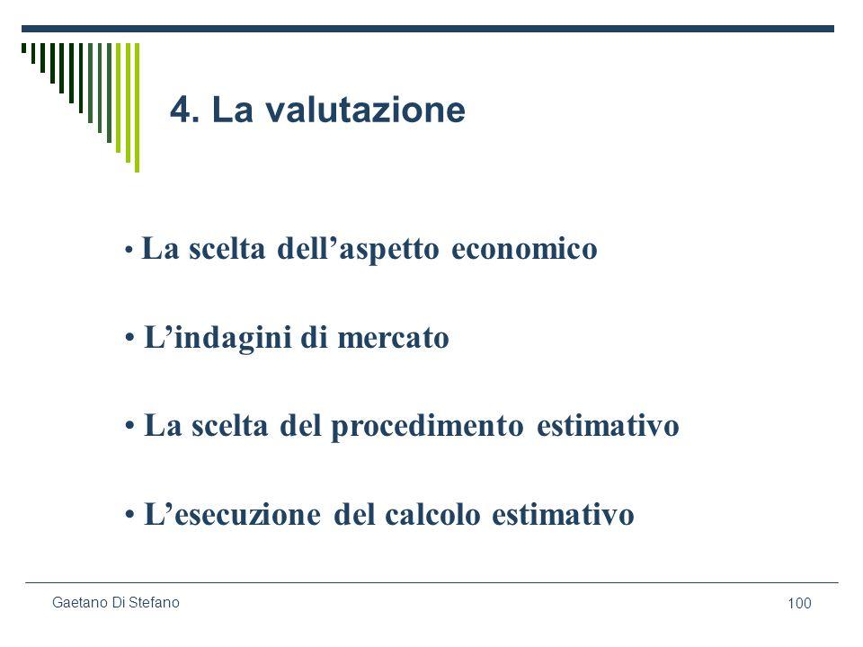 4. La valutazione L'indagini di mercato
