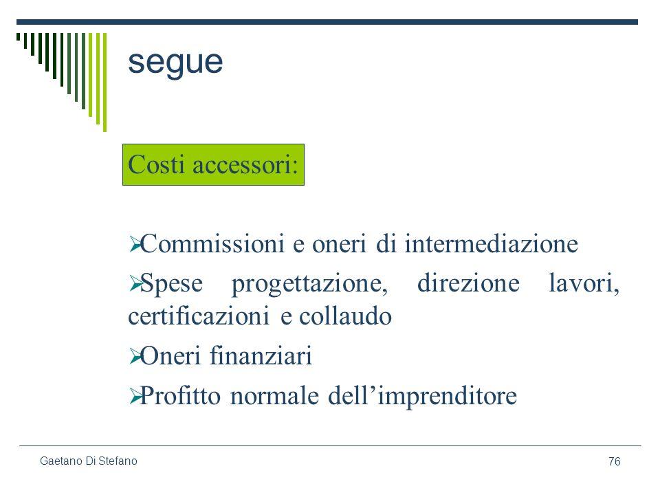segue Costi accessori: Commissioni e oneri di intermediazione