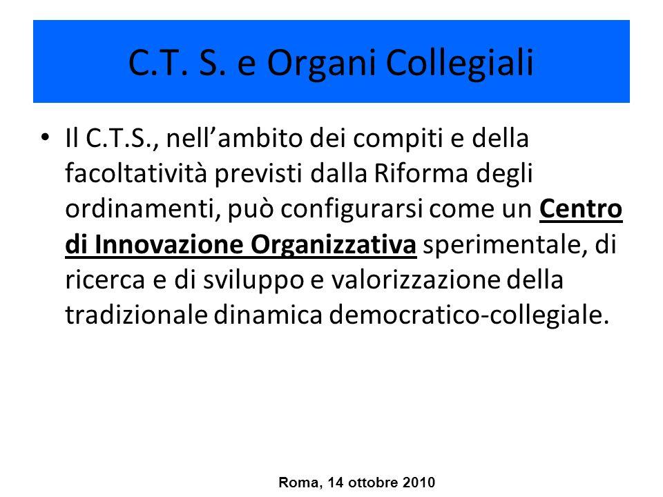 C.T. S. e Organi Collegiali