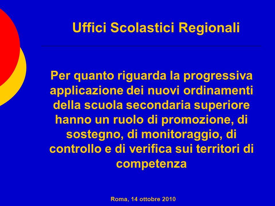 Uffici Scolastici Regionali