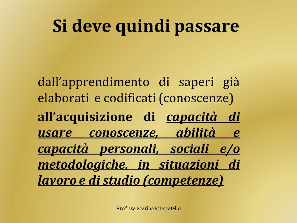 Prof.ssa Marina Muscatello