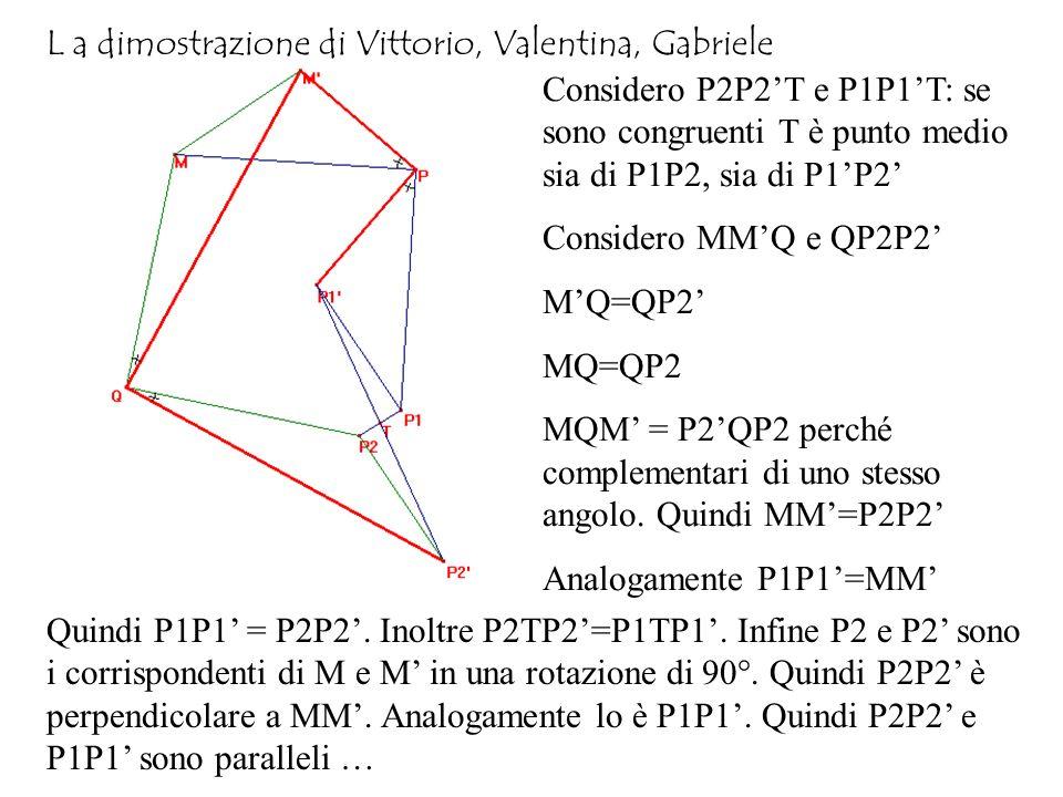 L a dimostrazione di Vittorio, Valentina, Gabriele