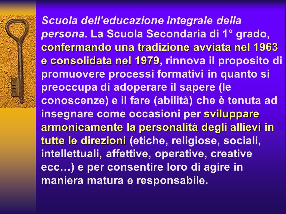 Scuola dell'educazione integrale della persona