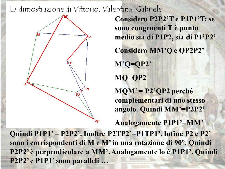 La dimostrazione di Vittorio, Valentina, Gabriele