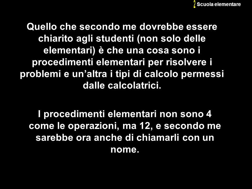 2 Scuola elementare.
