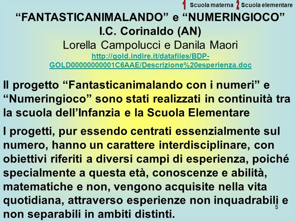 1 2 FANTASTICANIMALANDO e NUMERINGIOCO I.C. Corinaldo (AN)