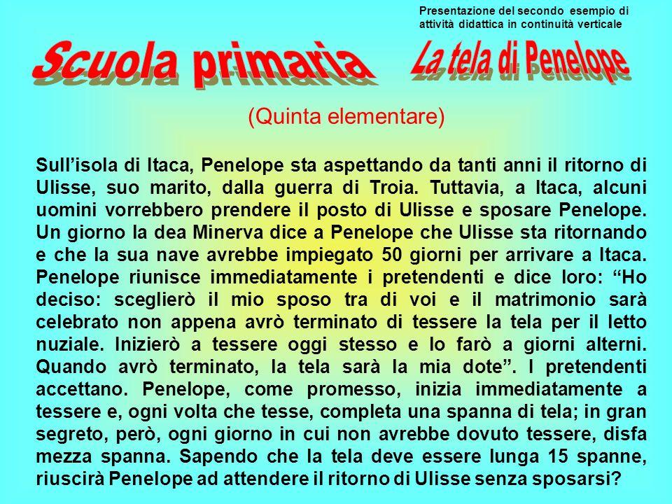Scuola primaria La tela di Penelope (Quinta elementare)