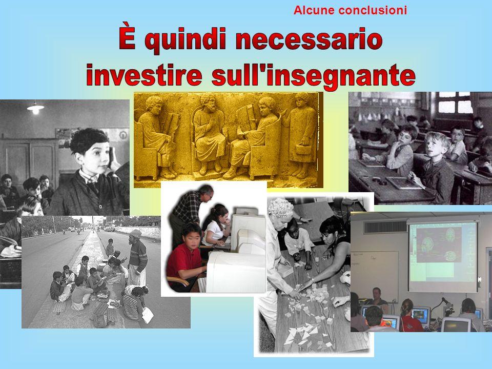 investire sull insegnante