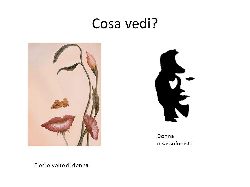 Cosa vedi Donna o sassofonista Fiori o volto di donna