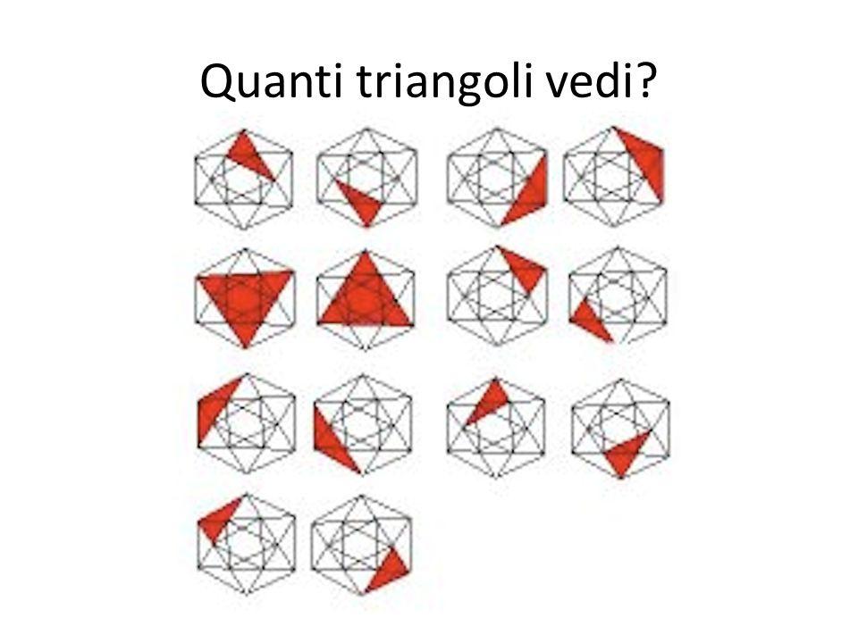 Quanti triangoli vedi