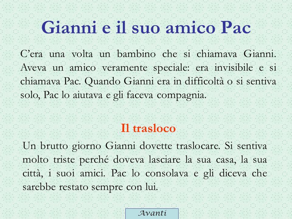 Gianni e il suo amico Pac