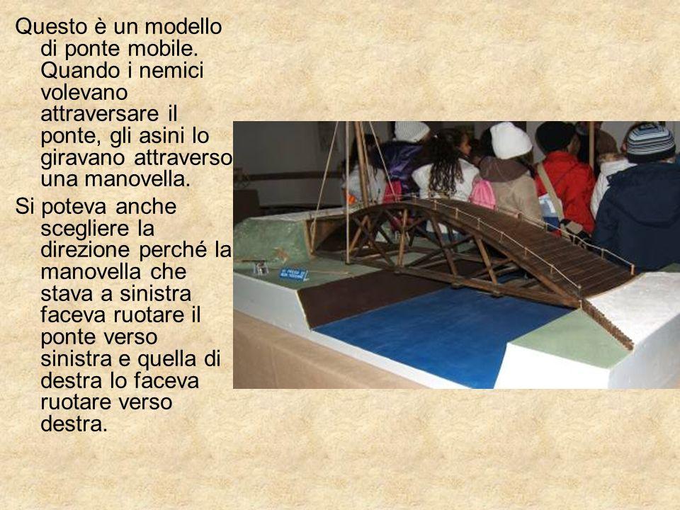 Questo è un modello di ponte mobile