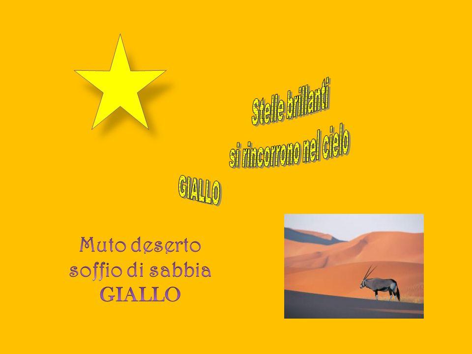 Muto deserto soffio di sabbia