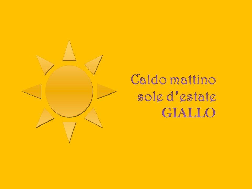 Caldo mattino sole d'estate GIALLO