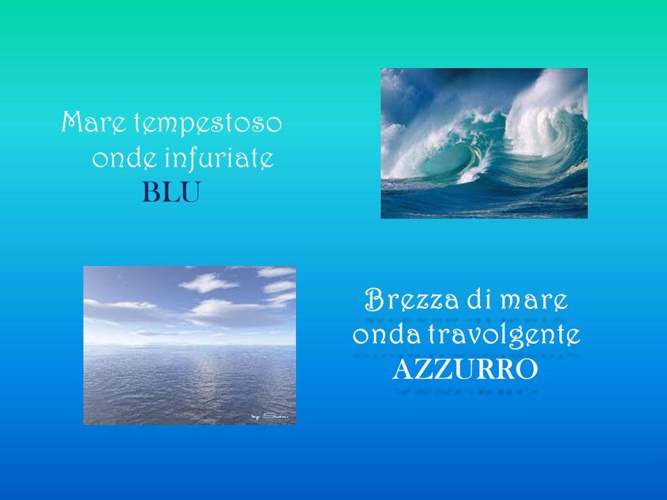 Brezza di mare onda travolgente AZZURRO