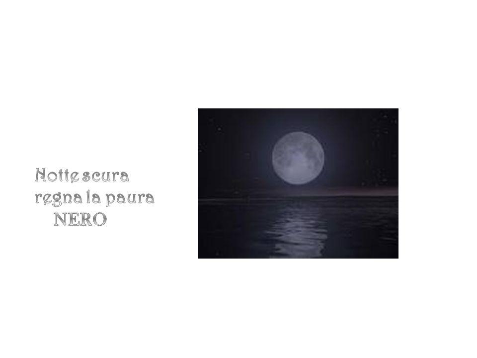 Notte scura regna la paura NERO