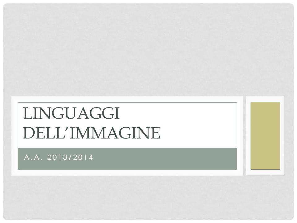 Linguaggi dell'immagine