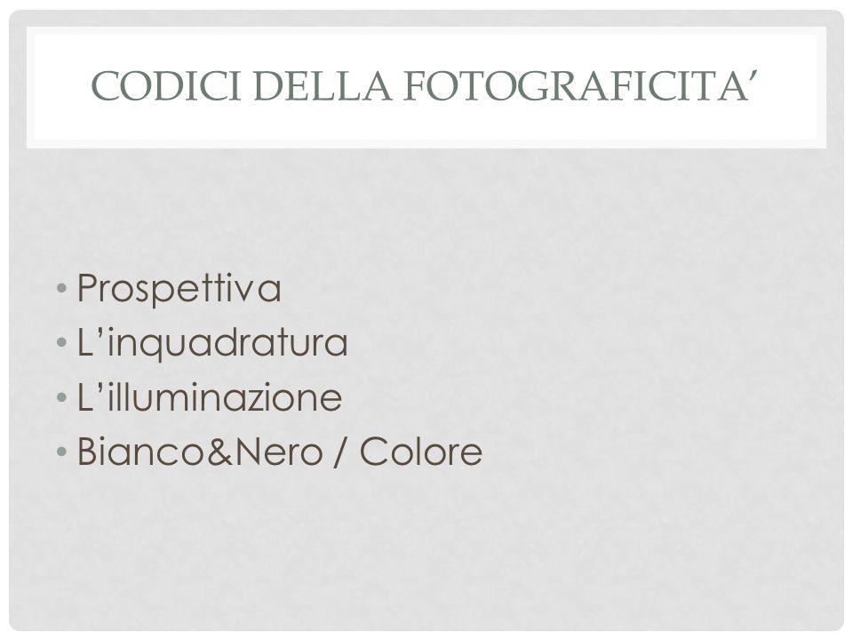 Codici della fotografiCita'