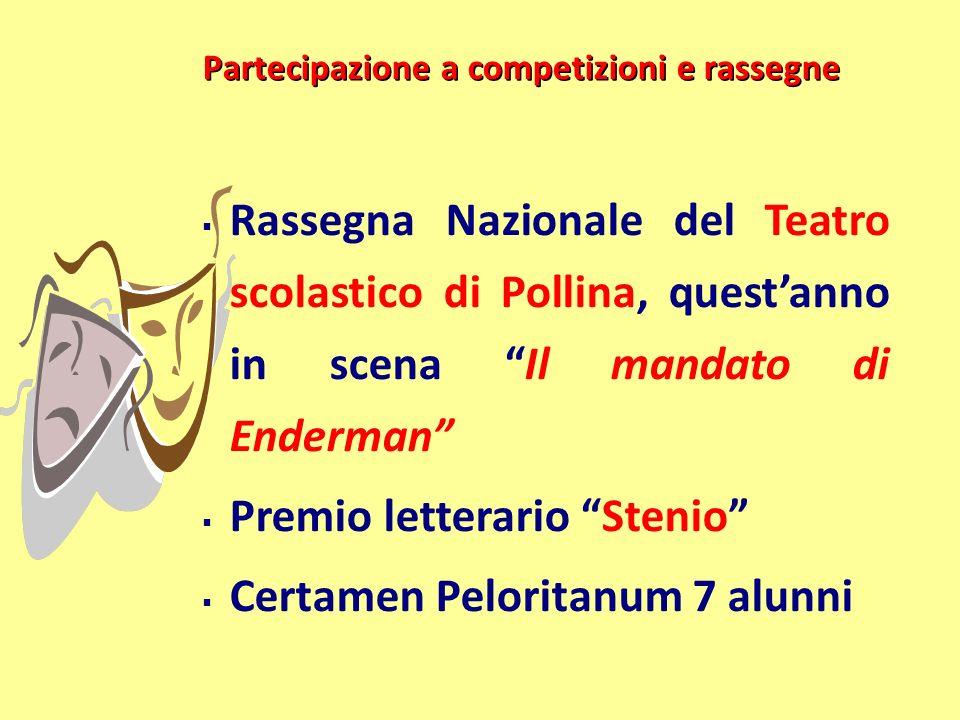 Premio letterario Stenio Certamen Peloritanum 7 alunni