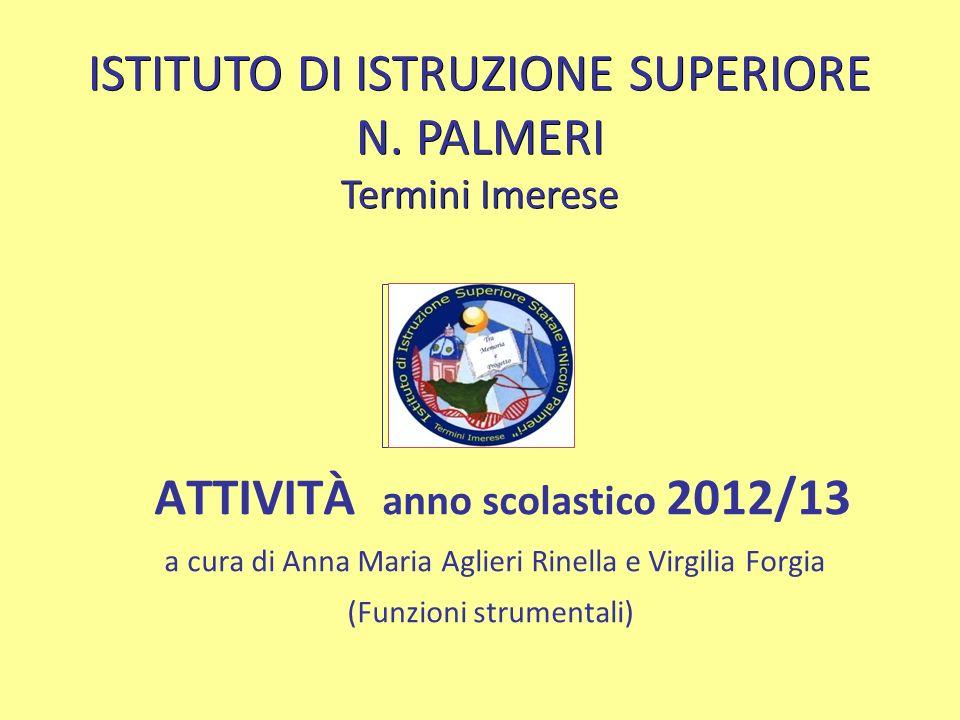 ISTITUTO DI ISTRUZIONE SUPERIORE N. PALMERI Termini Imerese