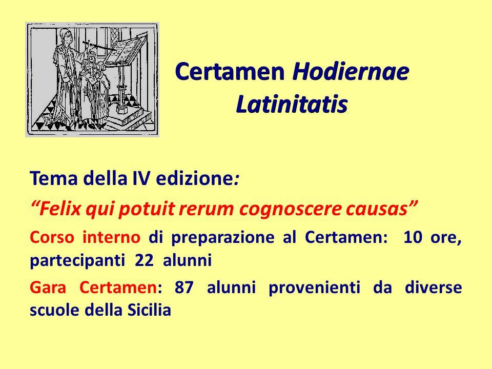 Certamen Hodiernae Latinitatis