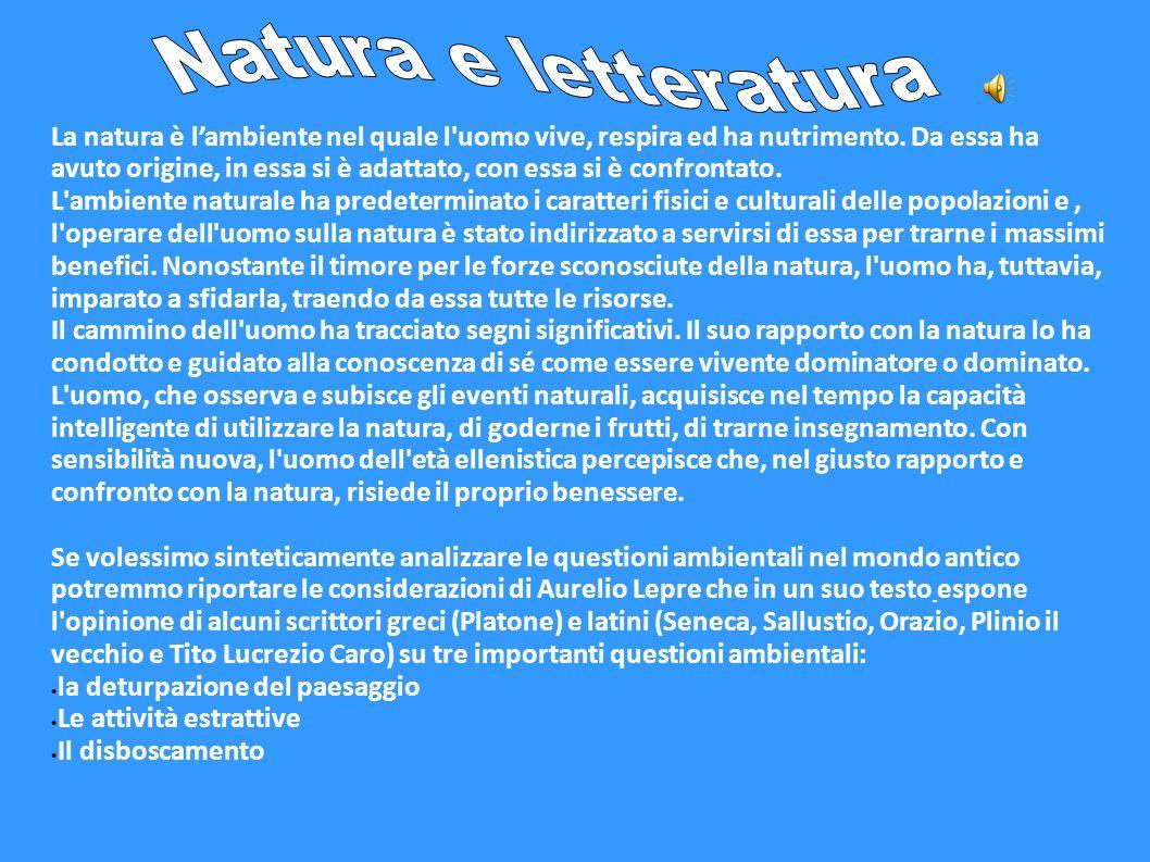 Natura e letteratura