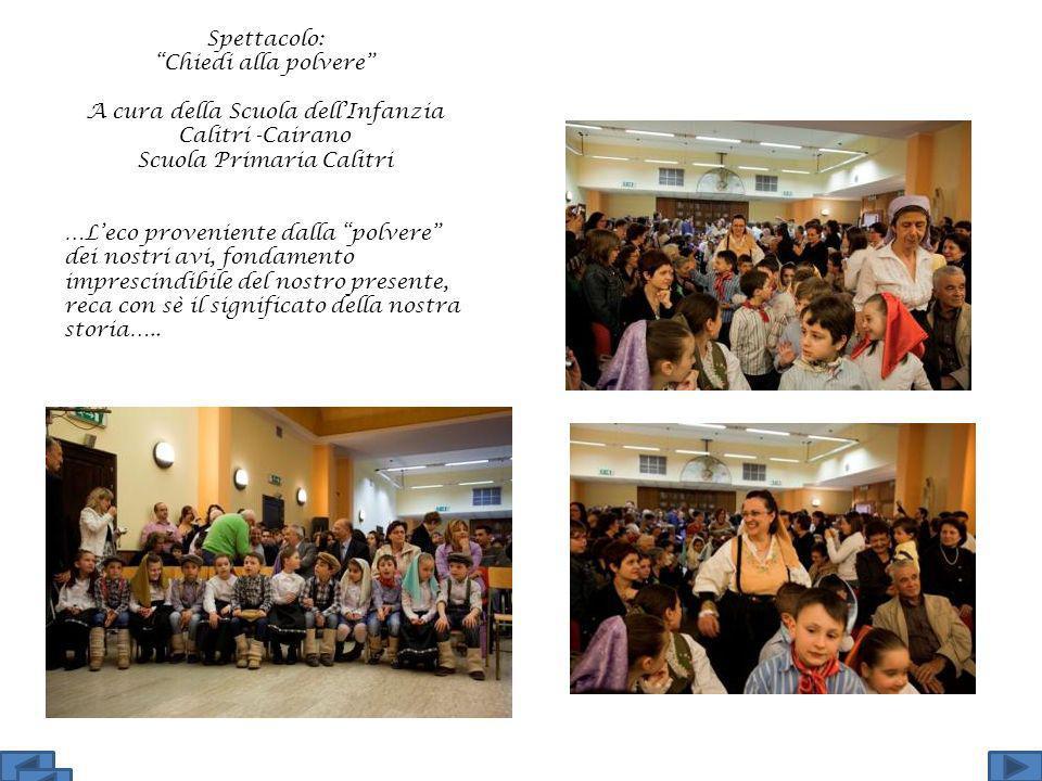 A cura della Scuola dell'Infanzia Calitri -Cairano