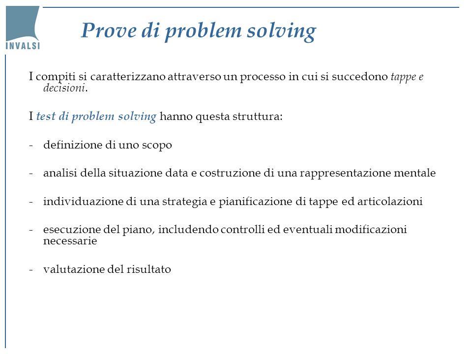 Prove di problem solving
