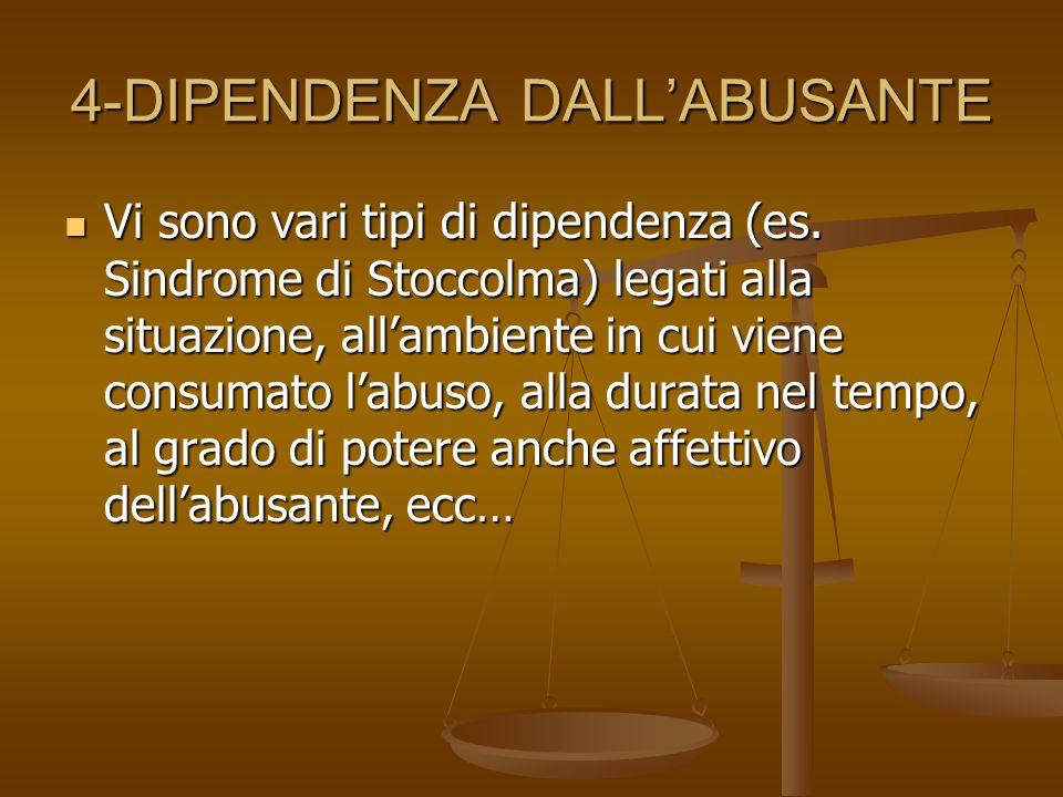 4-DIPENDENZA DALL'ABUSANTE