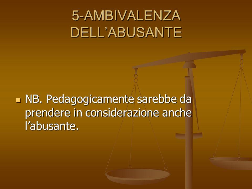 5-AMBIVALENZA DELL'ABUSANTE