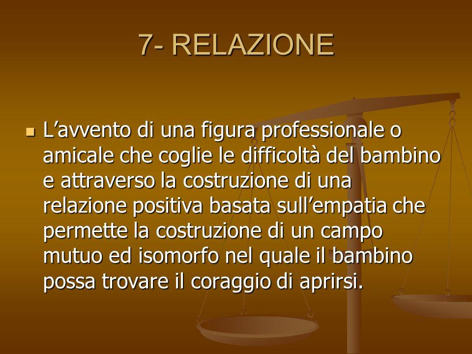 7- RELAZIONE