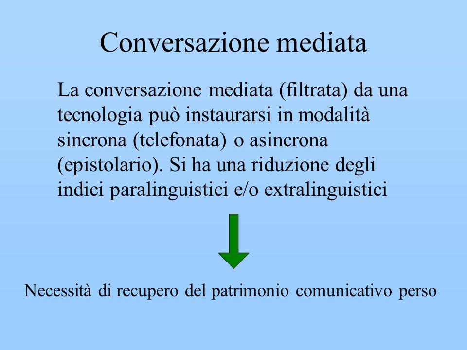 Conversazione mediata