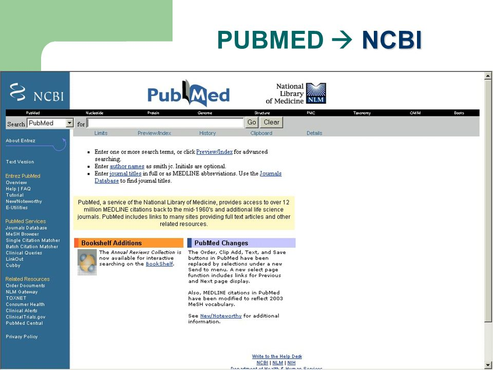 PUBMED  NCBI