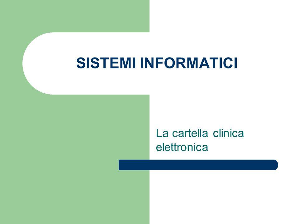 La cartella clinica elettronica