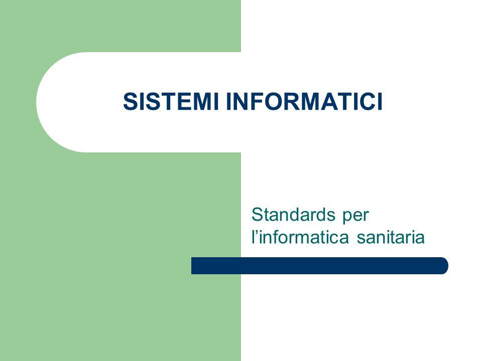 Standards per l'informatica sanitaria