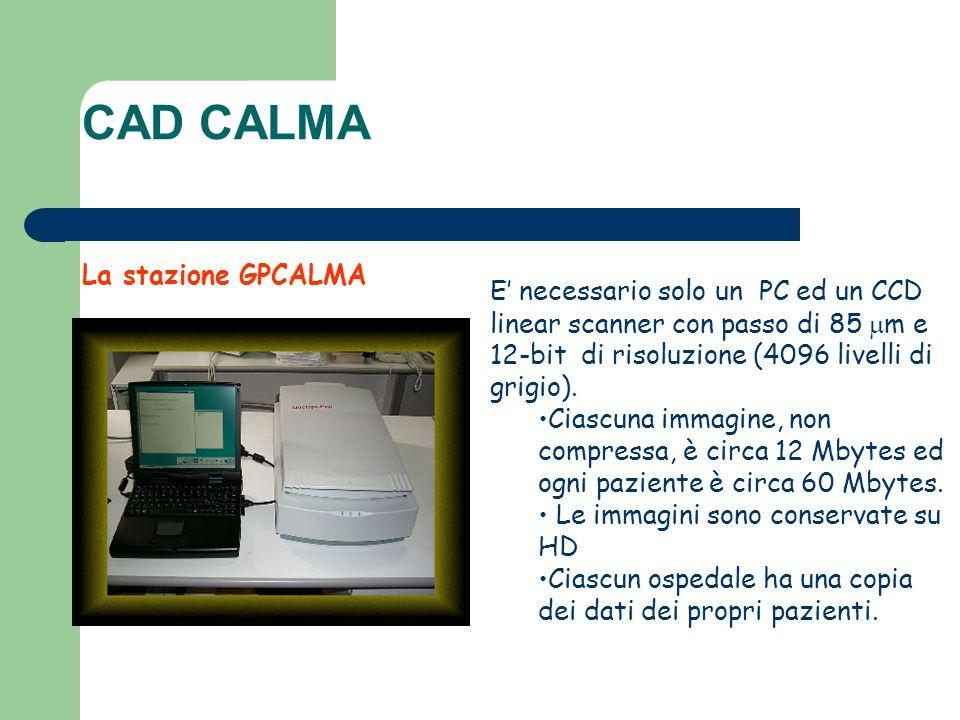 CAD CALMA La stazione GPCALMA