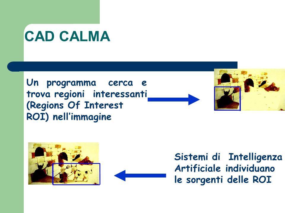 CAD CALMA Un programma cerca e trova regioni interessanti