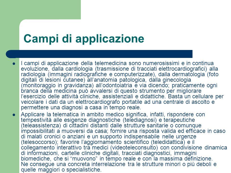 Campi di applicazione