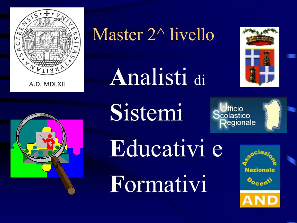 Analisti di Sistemi Educativi e Formativi