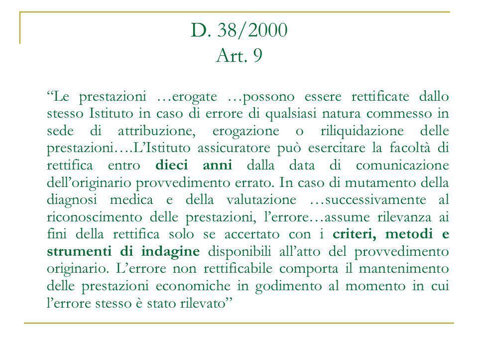 D. 38/2000 Art. 9