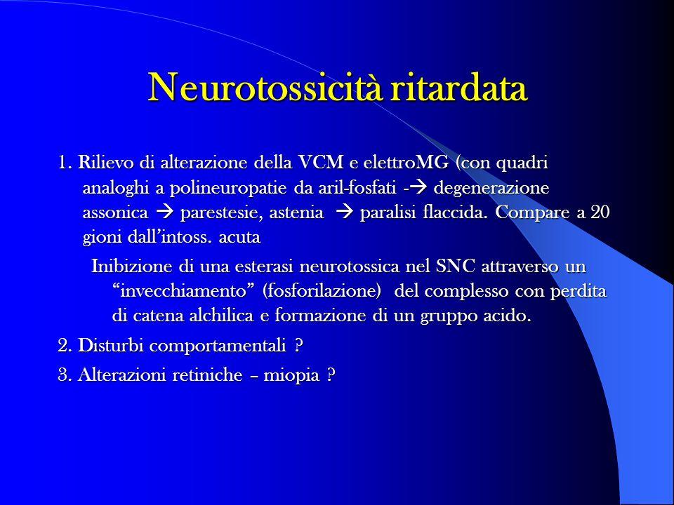 Neurotossicità ritardata