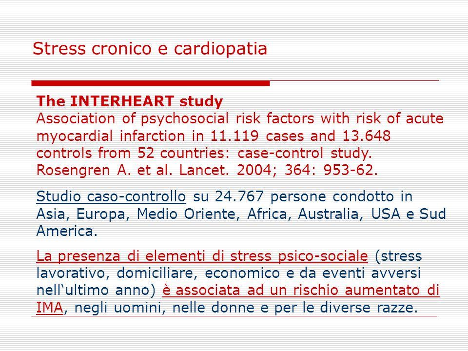 Stress cronico e cardiopatia