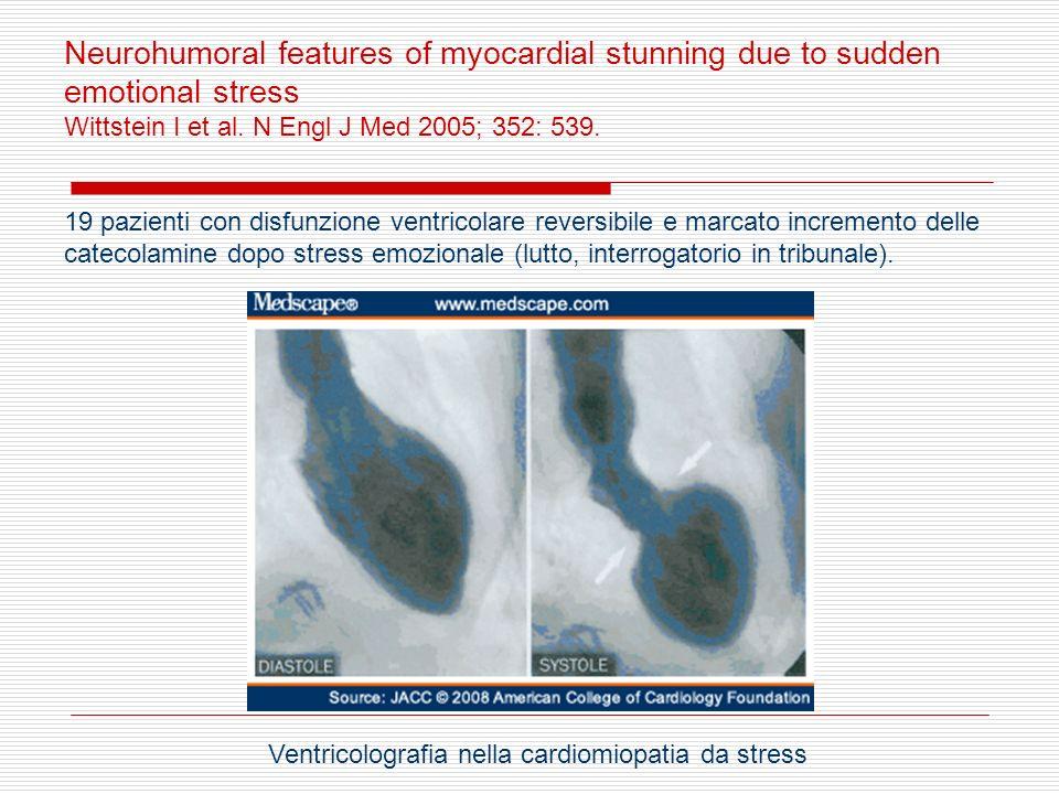 Ventricolografia nella cardiomiopatia da stress