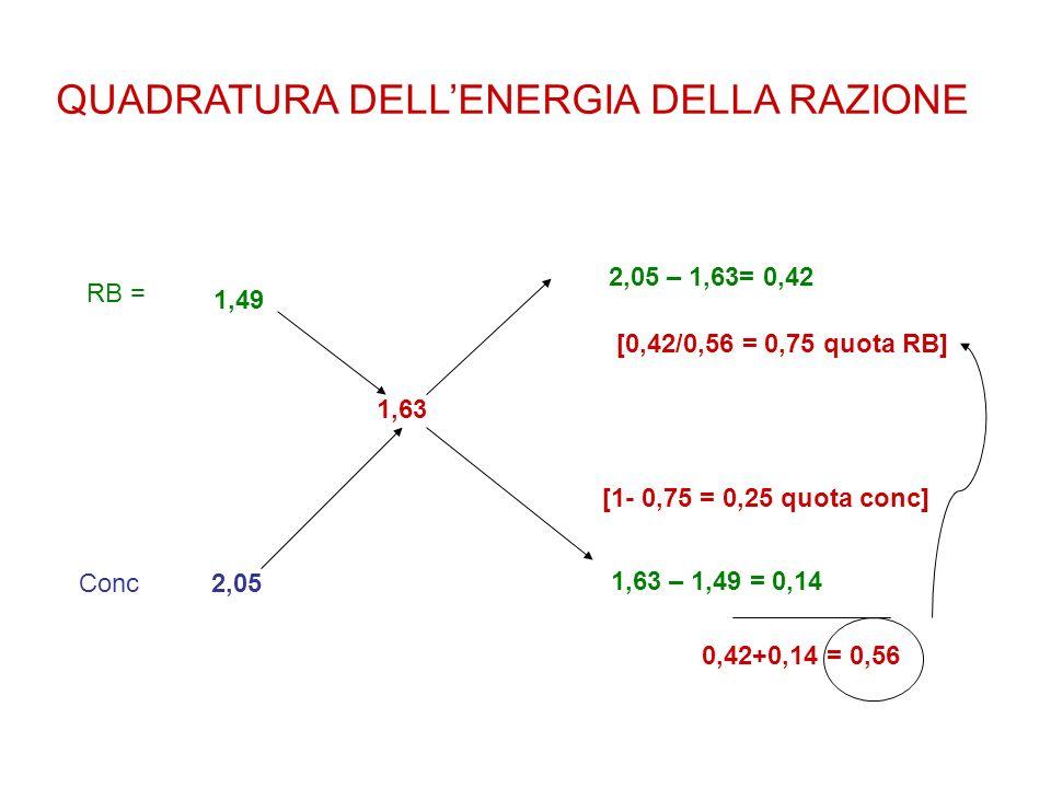 QUADRATURA DELL'ENERGIA DELLA RAZIONE
