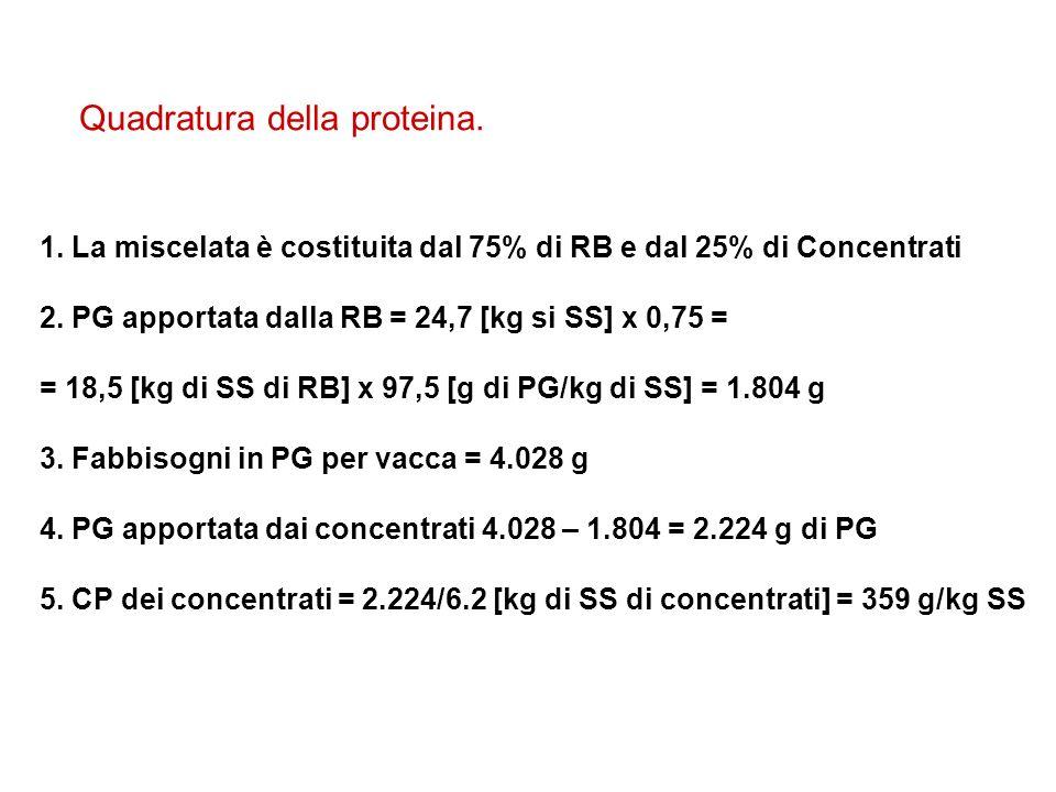 Quadratura della proteina.