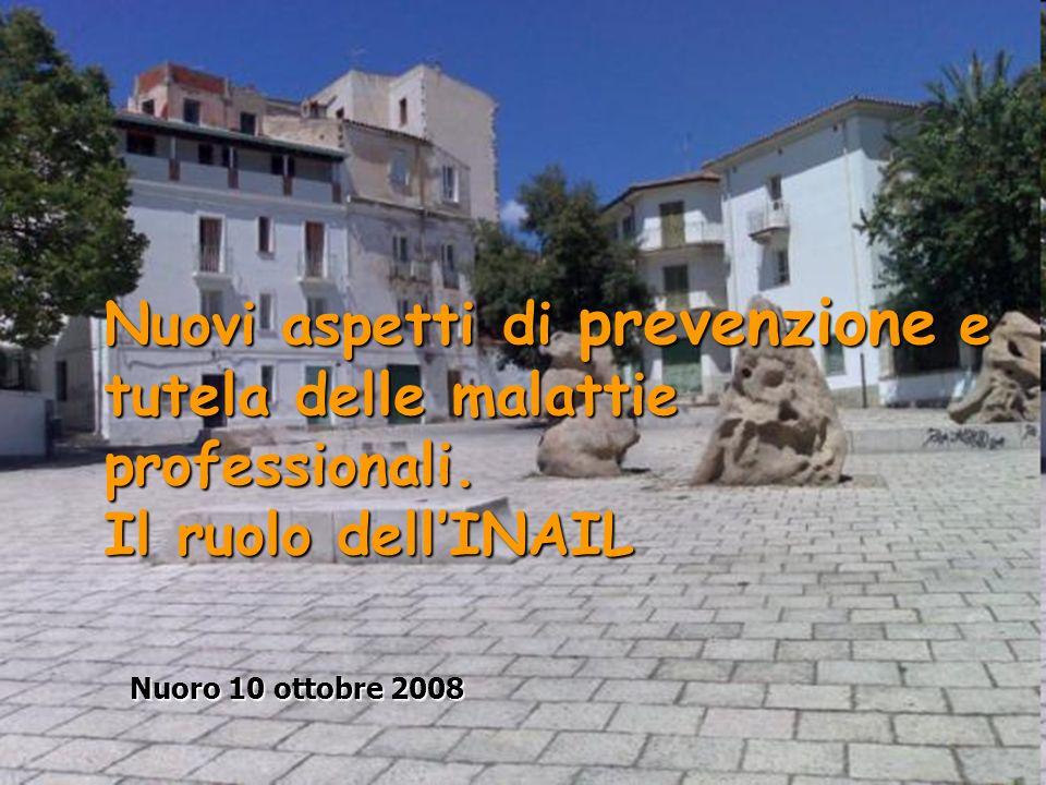 Nuovi aspetti di prevenzione e tutela delle malattie professionali