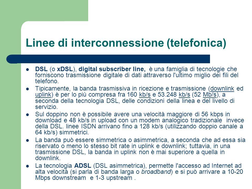 Linee di interconnessione (telefonica)